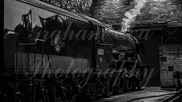 Flying Scotsman Rests