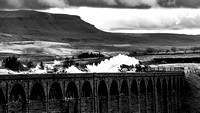 Flying Scotsman Over Ribblehead