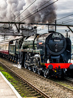 70000 Britannia Steam Train